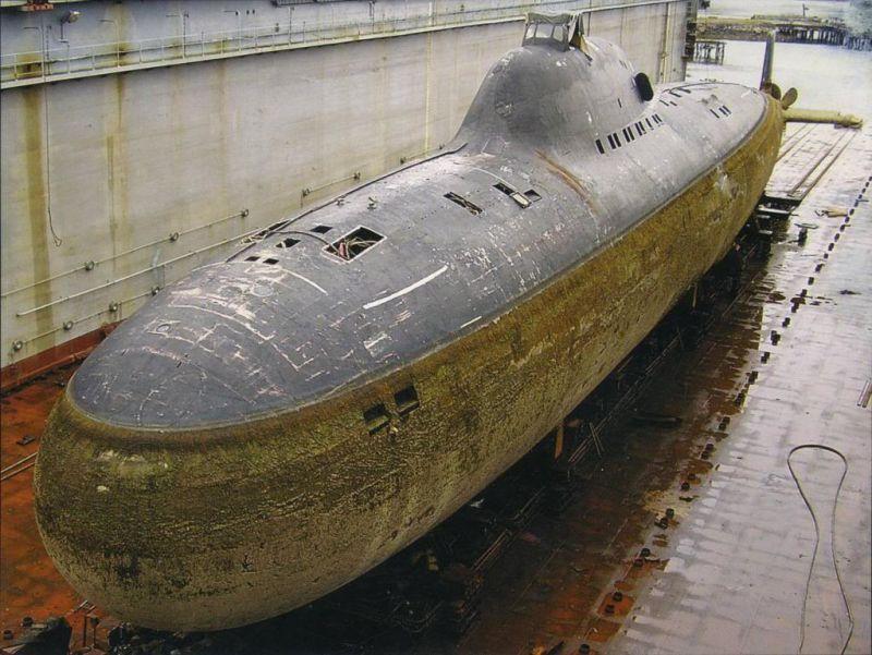Un projet 705. Ou class Alfa pour l'OTAN