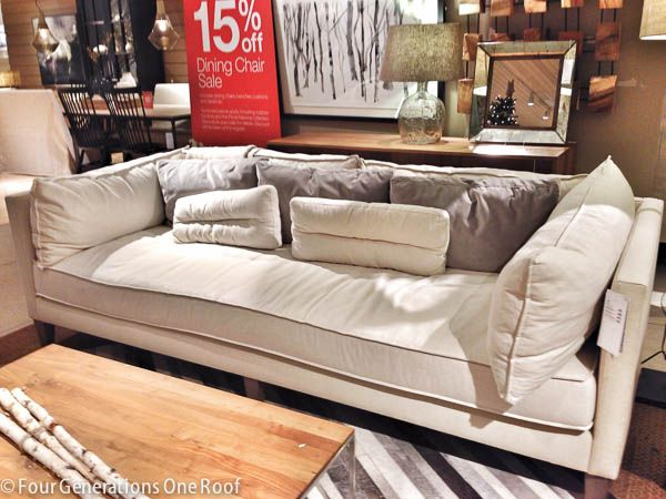 The Search For A Comfy Couch Our Tufted Sofa