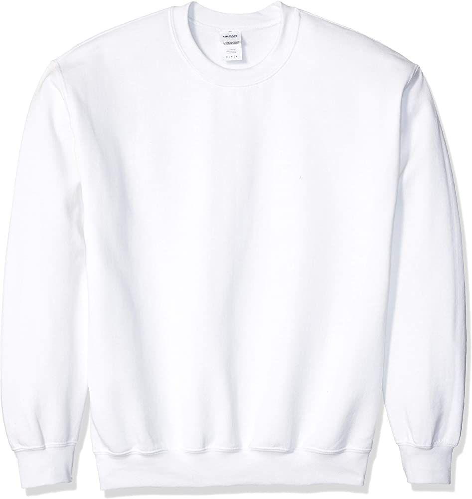 Gildan Men S Heavy Blend Crewneck Sweatshirt Large Black At Amazon Men S Clothing Store Crew Neck Sweatshirt Sweatshirts Fleece Hooded Sweatshirt [ 1000 x 947 Pixel ]