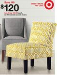 yellow accent chair target - Google Search