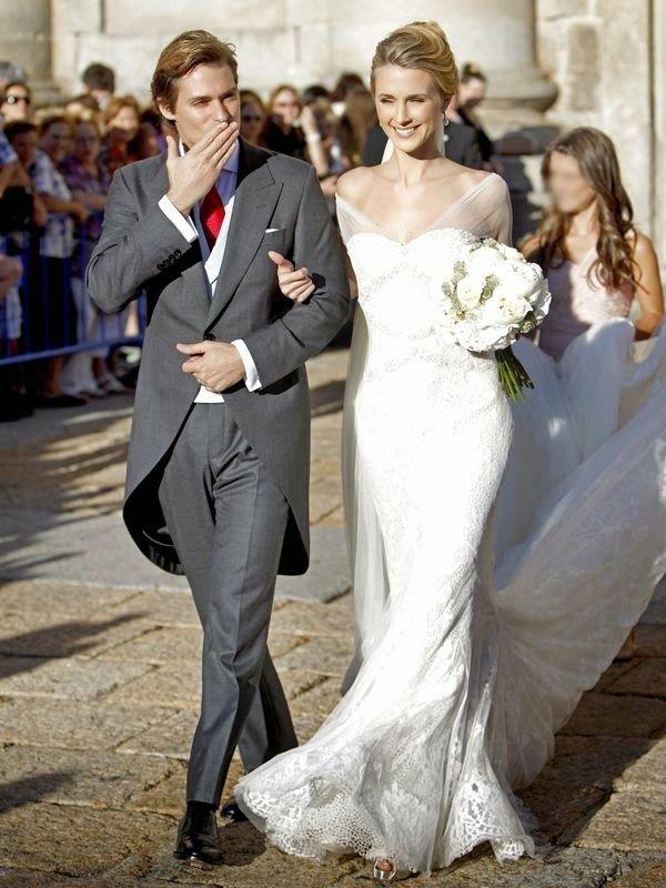 vestidos de novia boda astrid klisans carlos baute hermanas bolena