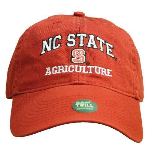 NC State Wolfpack Agriculture Red Relaxed Fit Adjustable Hat