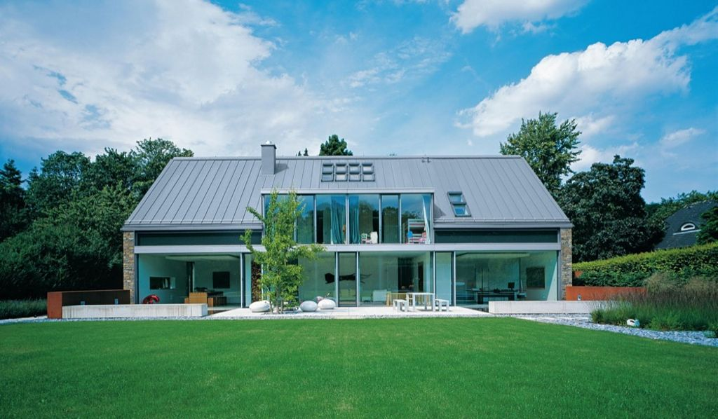 Gallery of zinc roof systems angled standing seam 2 in
