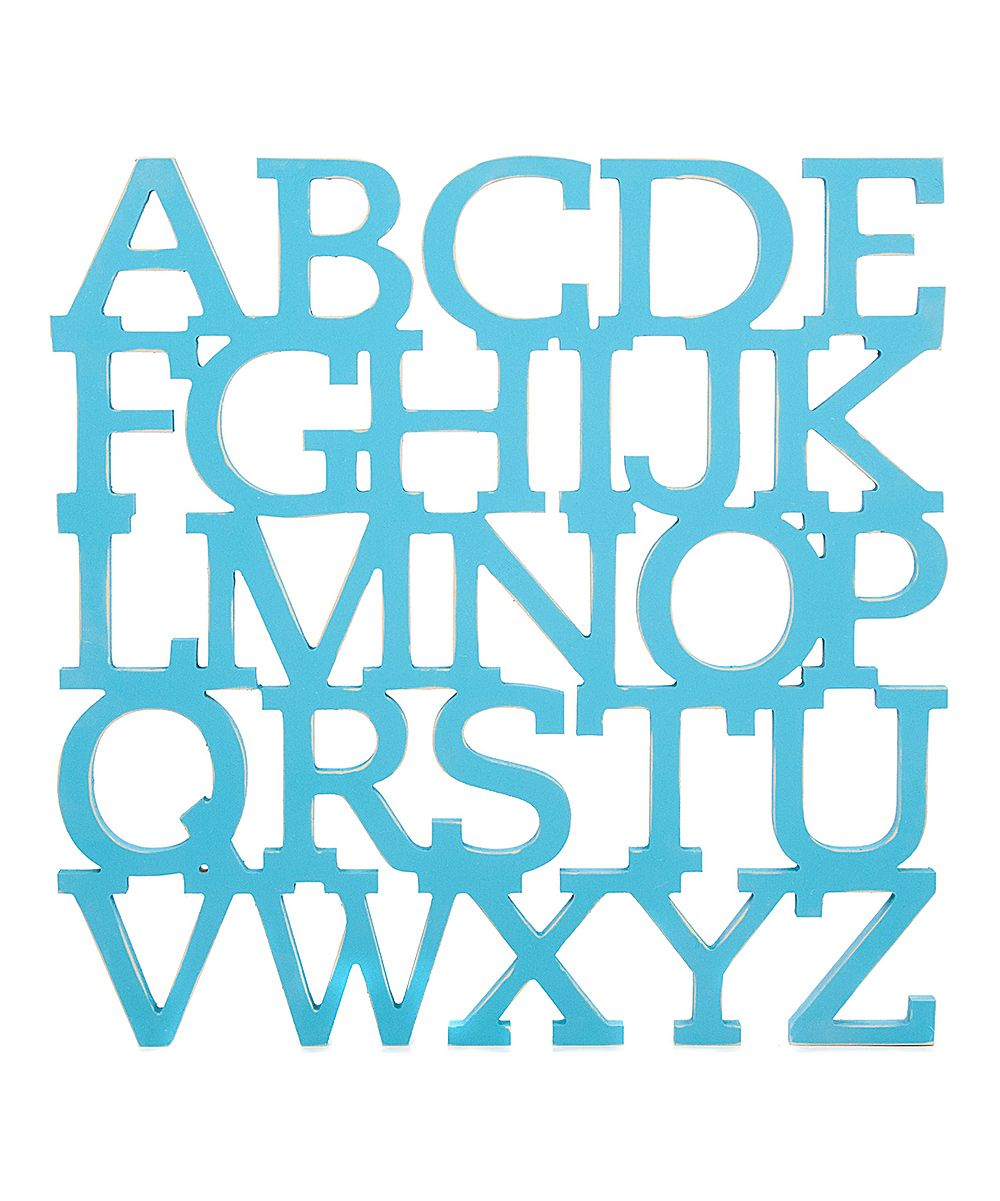 Wooden Letter Set - perfect for little libraries, playrooms and or just for fun decor