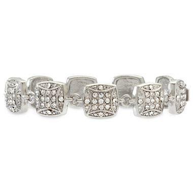 Monet® Crystal Pave Bracelet - jcpenney