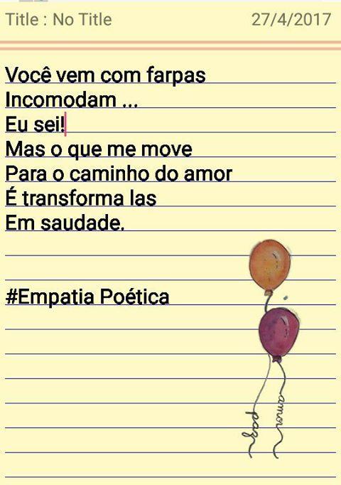#Empatiapoetica #poesia