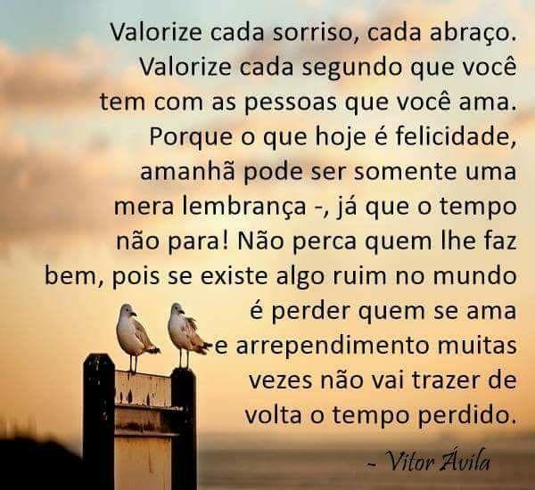 Não Esperar Perder Para Dar Valor Frases Bonitas Frases Amor E
