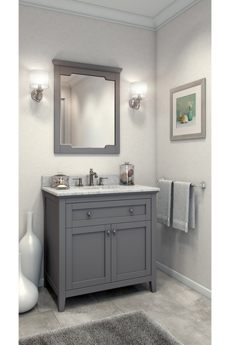 Get The Lowest Price On Jeffrey Alexander Van102 36 T 36 Chatham Shaker Vanity With Top And Bow Small Bathroom Remodel Traditional Bathroom Bathrooms Remodel