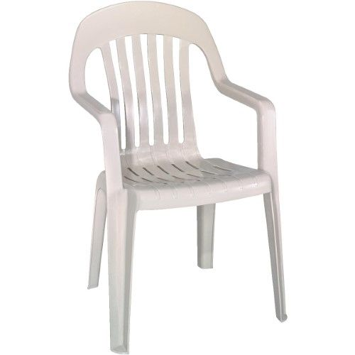 adams high back stackable chair white products pinterest rh in pinterest com