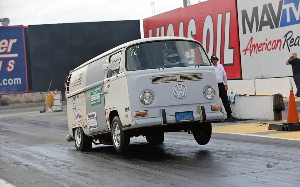 Checkered Flag VW >> Drag Bus Wheeld Checkered Flag Racing Vehicles