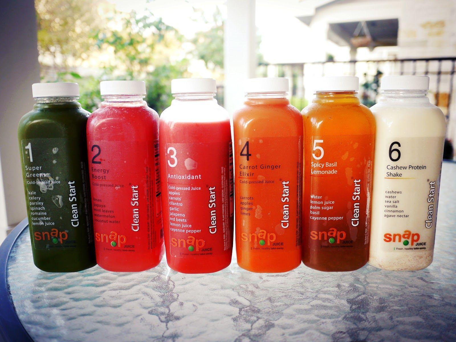 Snap Kitchen\'s Clean Start juice program | Pinterest | Cleanse ...