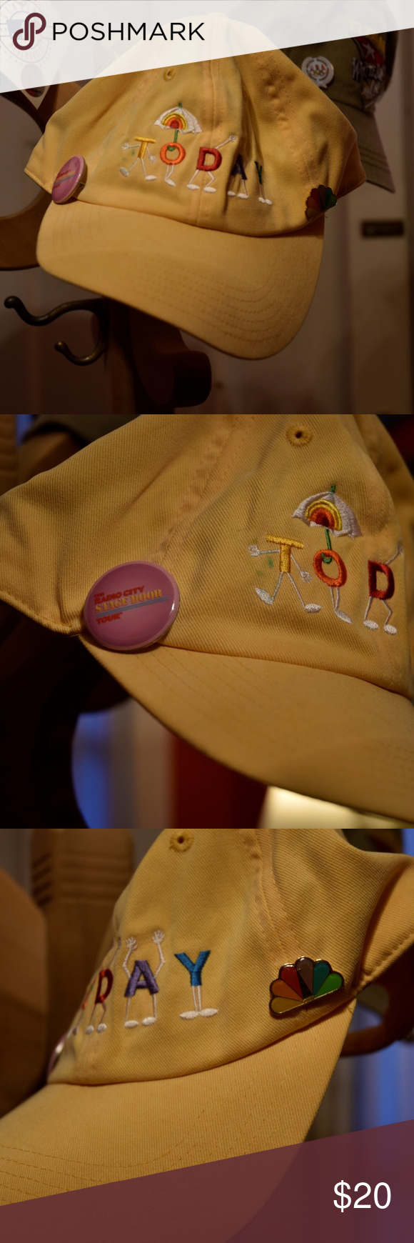 Today Show Official Hat with 2 NBC Pins in 2020 Official