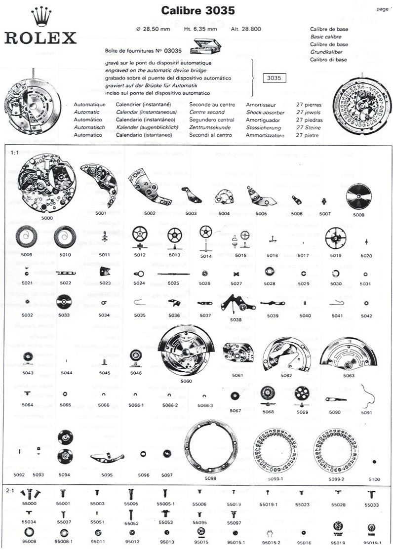 rolex parts diagram , Google Search