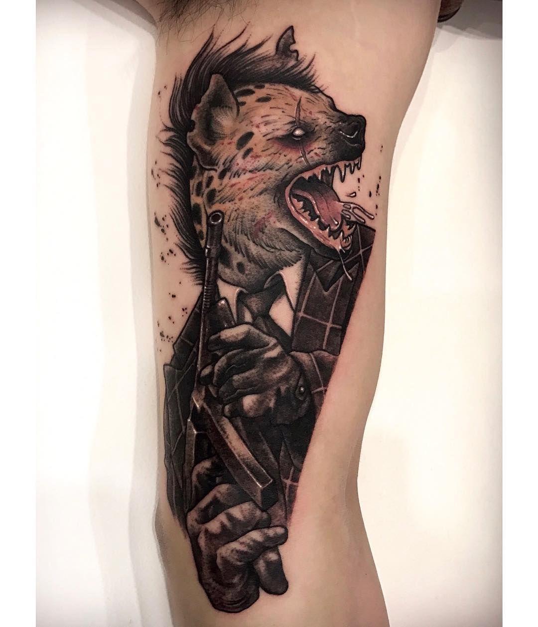 Mafia hyenas Animal tattoo, Tattoo designs, Tattoos