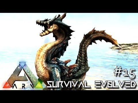 nice ARK SURVIVAL EVOLVED - NEW DRAGON MONSTER LAGIACRUS \ QURUPECO - new blueprint ark survival