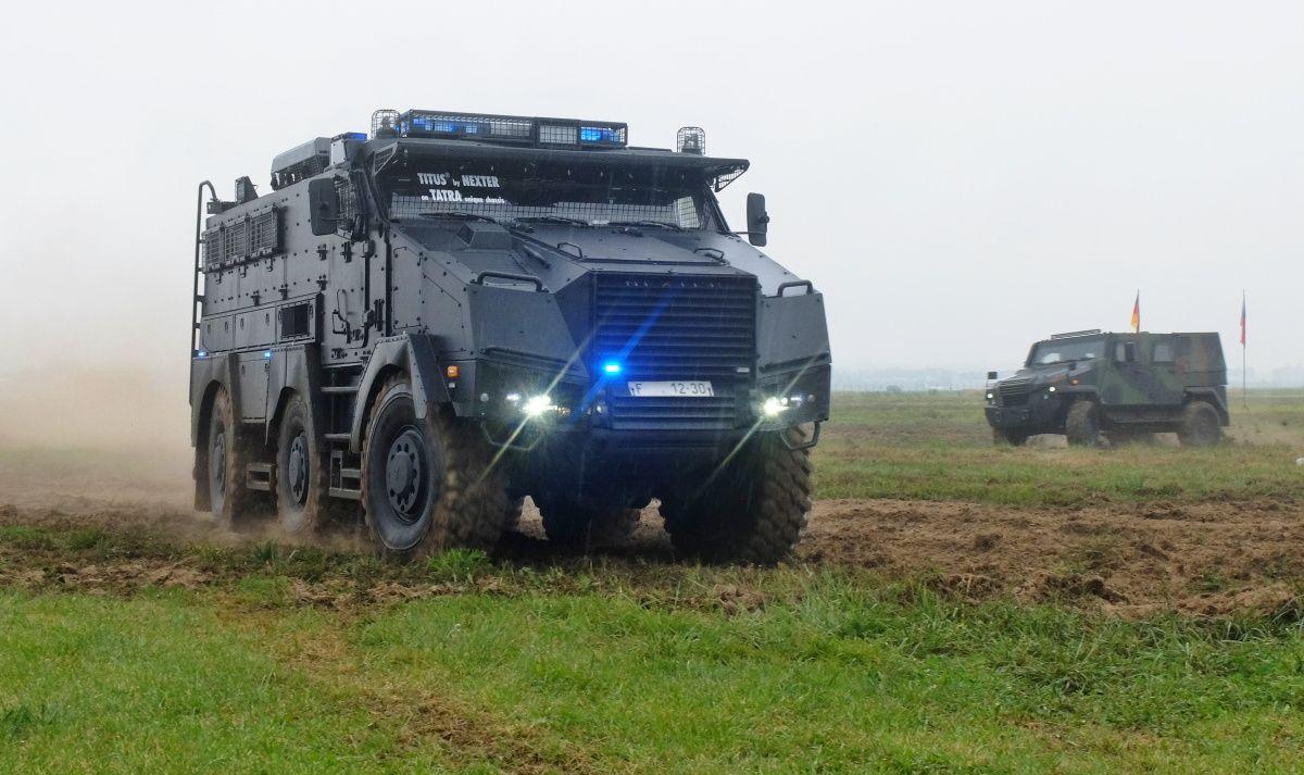Holding Czechoslovak Group A Tatra Trucks Se Predstavily