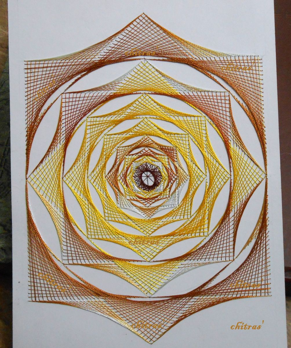 pin on string art on cards  my creations