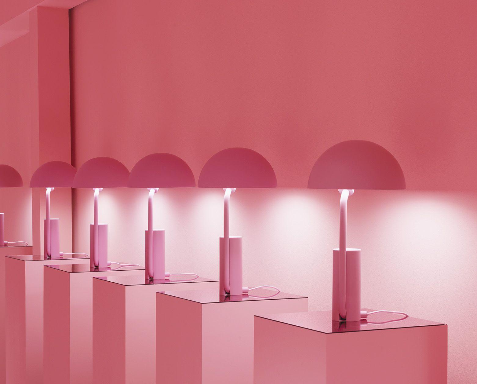 Cap Table Lamp Blush Copenhagen Contemporary Table Lamps And  # Muebles Vasquez Bio Bio