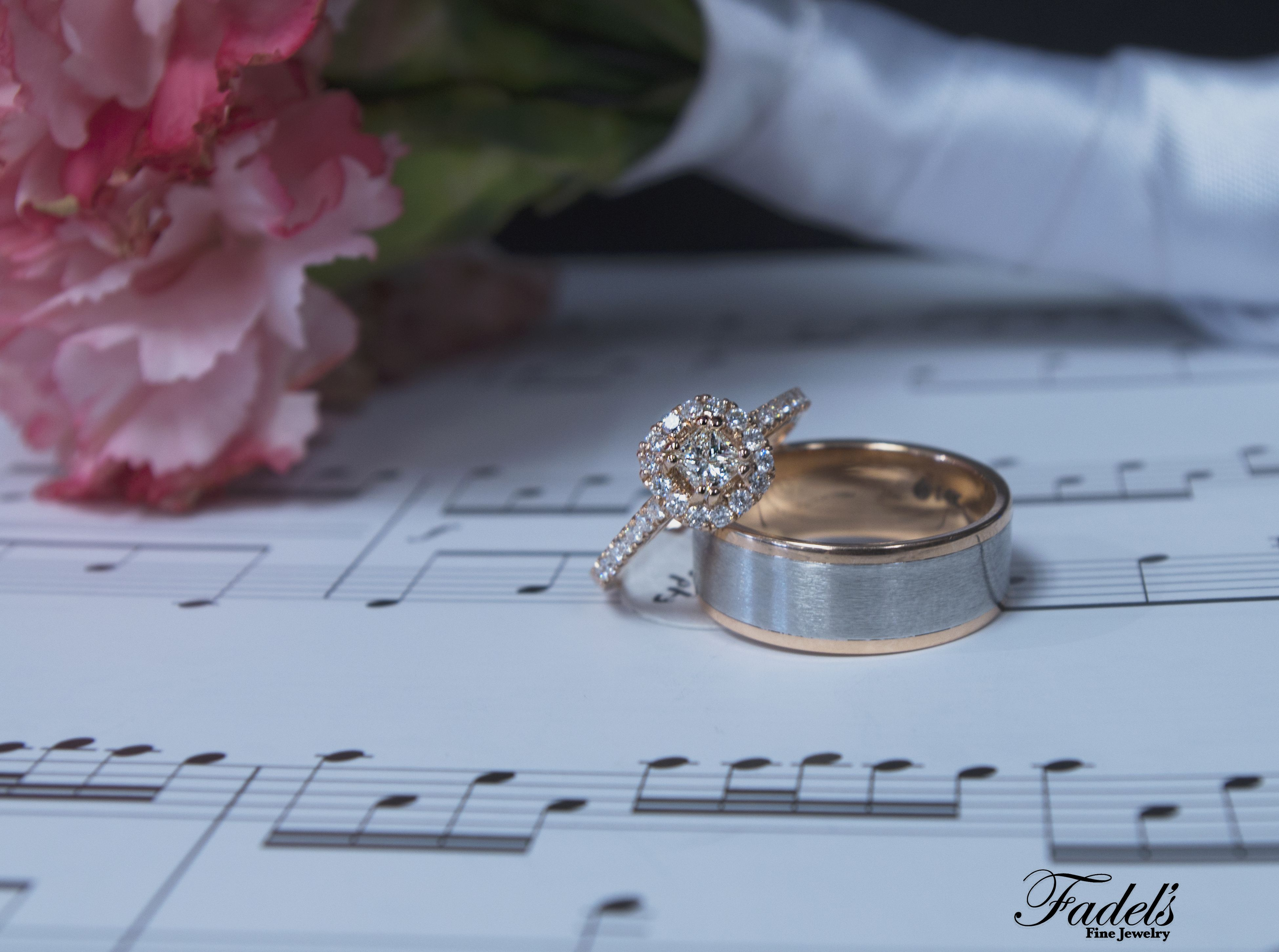 This is a 14K rose gold hallow engagement ring  This ring is