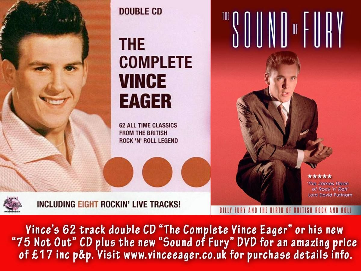 From Vince Eager - posted on the Facebook page: Friends of Billy Fury - 6.8.2015