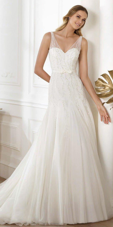 Hermosos vestidos de novia tradicionales | Colección de vestidos de ...