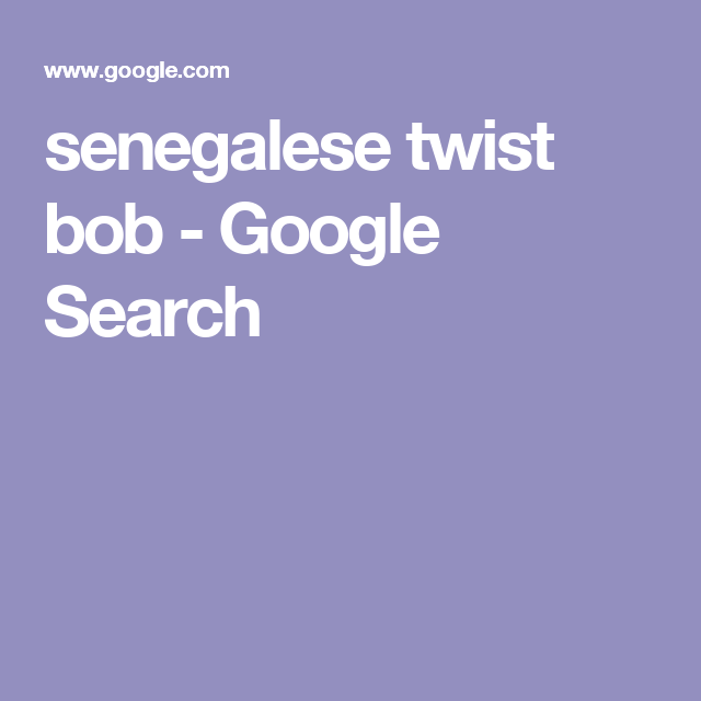 senegalese twist bob Google Search Quilt patterns free