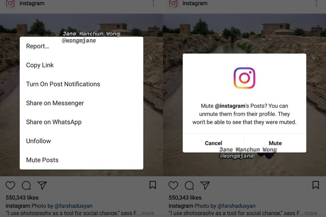 instagram is testing feature that allows public accounts to remove followers the verge Instagram Might Be Testing A Mute Button And A Bunch Of Other New Features Instagram Marketing Instagram Instagram Posts