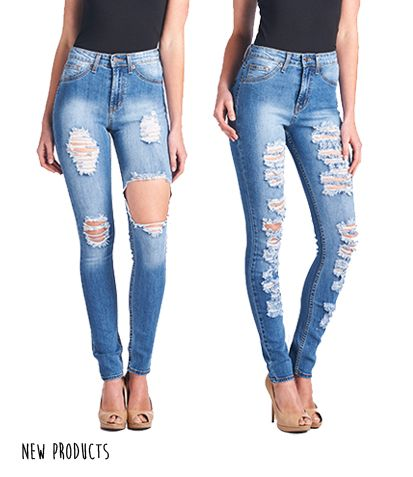92651bf718 Parkers Jeans - Classic High Waist Fit - D5216 R  denim  highwaisted   distressed  cutout  ripped  jeans  skinny  classic  fit  hips  parkersjeans