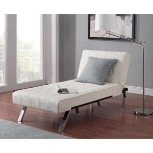Emily Futon with Chaise Lounger, Multiple Colors - Walmart.com