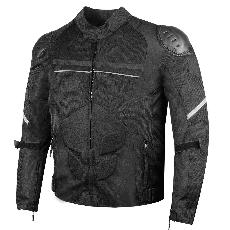 AirTrek Men Mesh Motorcycle Touring Waterproof Rain Armor