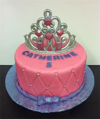 Princess Tiara Birthday Cake 5th Cakes Ideas