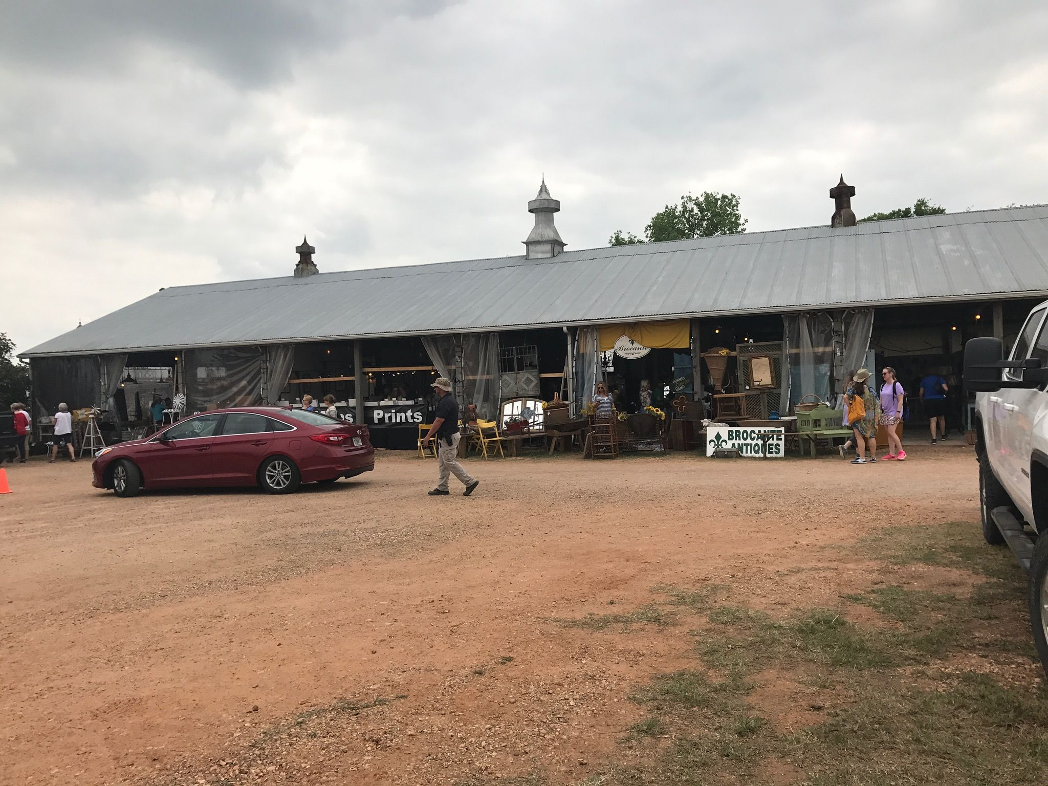 The Compound, Round Top Antique Fair, Carmine Tx