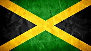 """Jamaica's flag was originally designed with horizontal stripes, but this was considered too similar to the Tanganyikan flag, and so the saltire was substituted. It hints at the Scottish and Irish roots of much of the population, while black, green, and gold are Pan-African colors, representing the country's black majority population. An earlier interpretation of the colors was, """"hardships there are but the land is green and the sun shineth."""""""