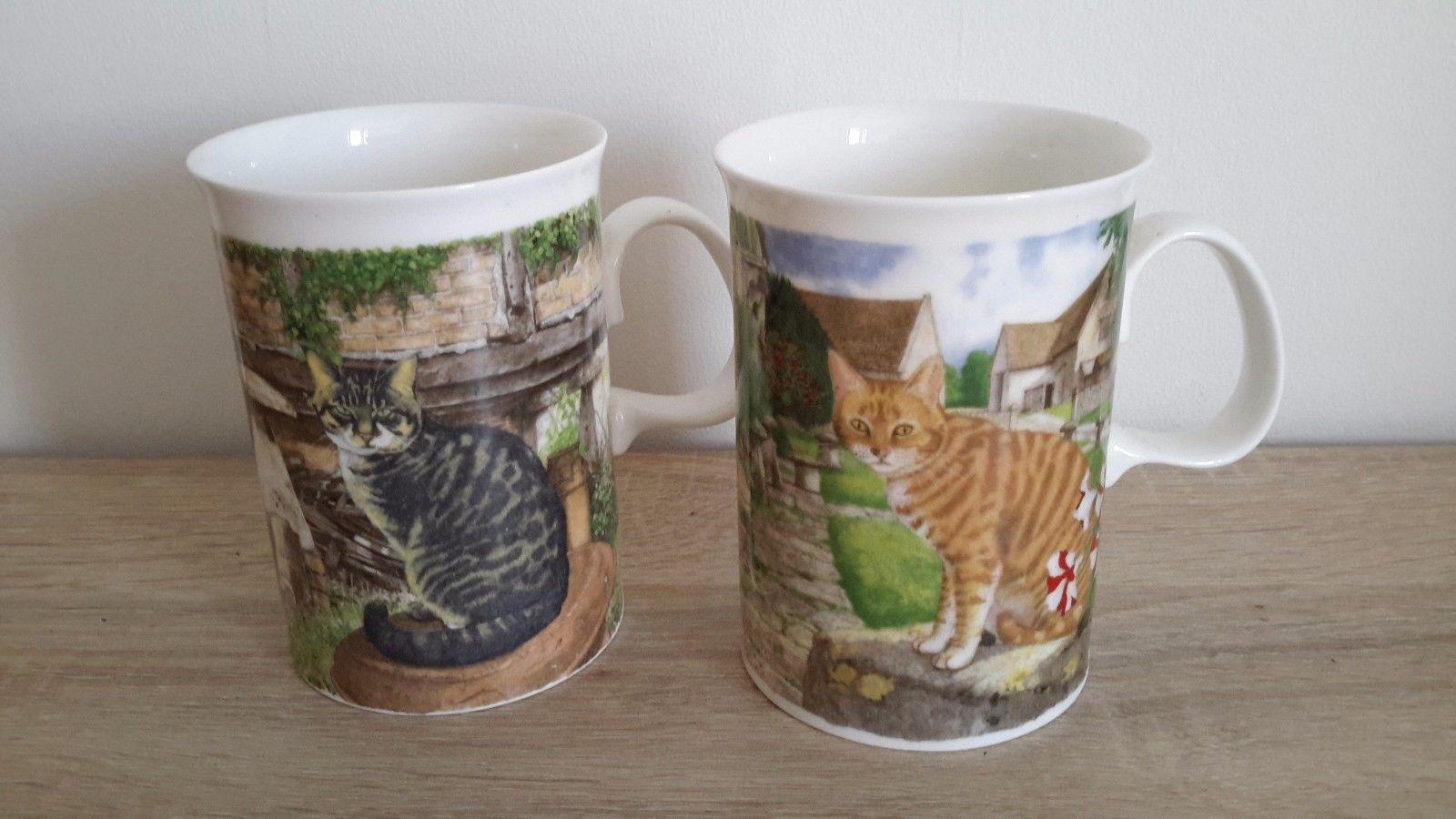 2 De Tasses Chat Lot Motif Porcelaine Mug 00 15 En Eur reCdxBo