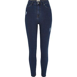 High Waist Super Skinny Jeans from River Island R700,00