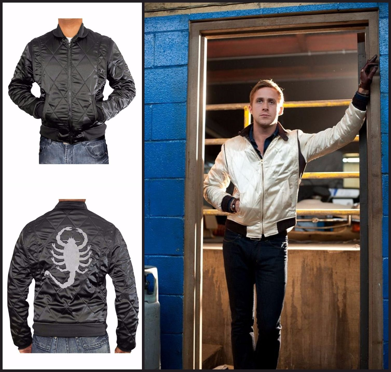 Ryan Gosling Scorpion Drive Black Jacket Jackets Ryan Gosling Black Jacket [ 1433 x 1507 Pixel ]