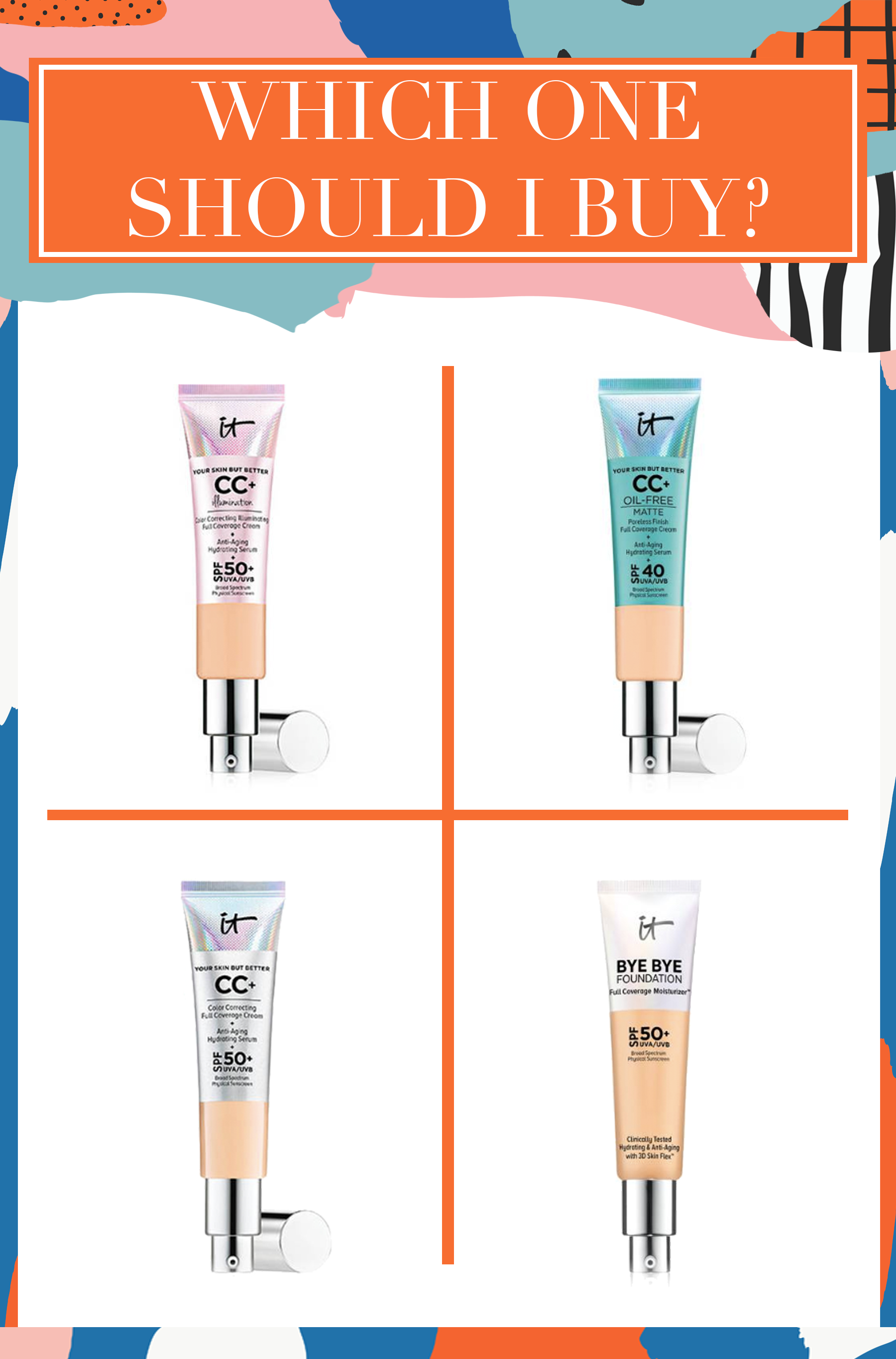 It Cosmetics Foundations (With images) It cosmetics