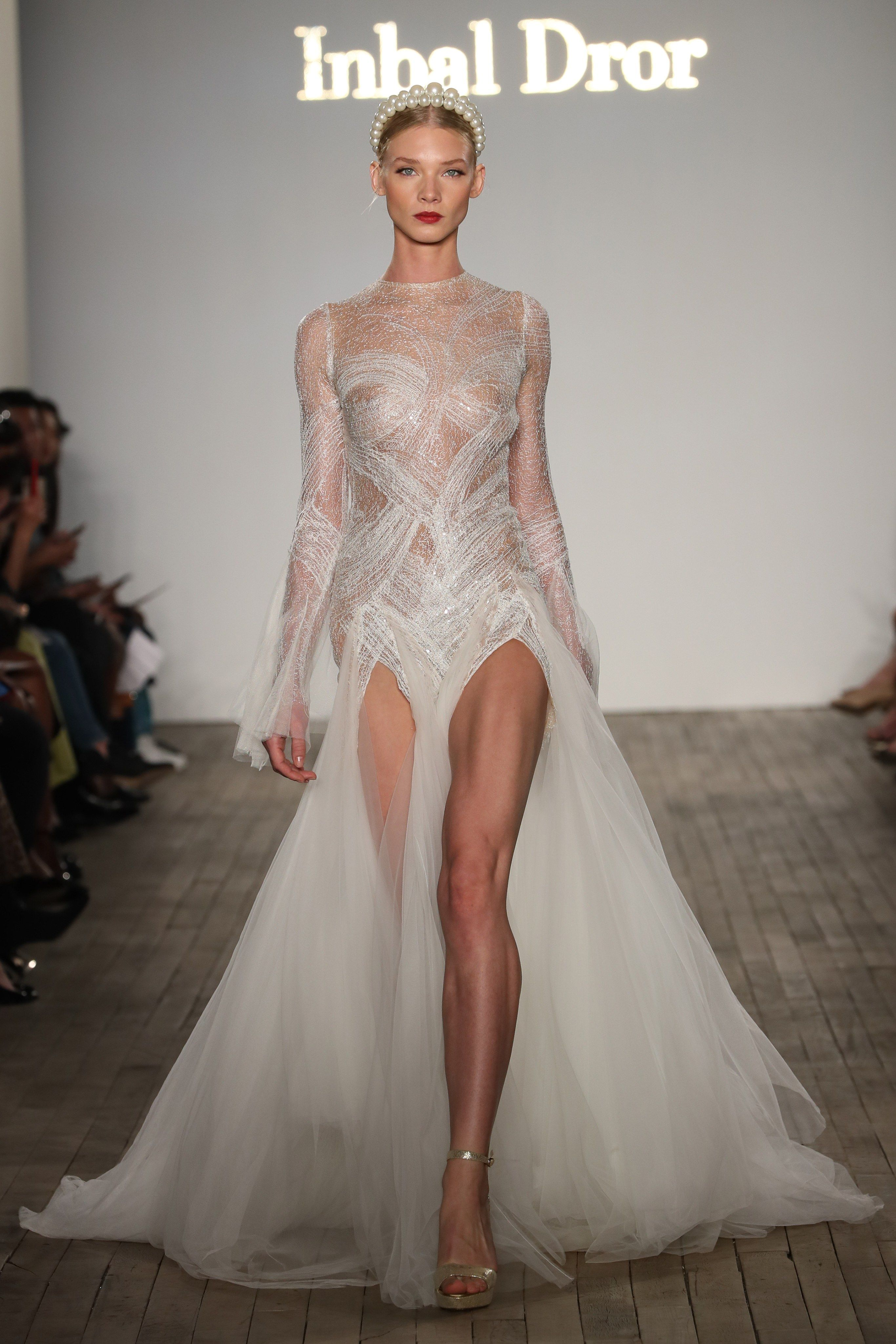 Inbal Dror Bridal Fall 2019 Fashion Show Wedding dress