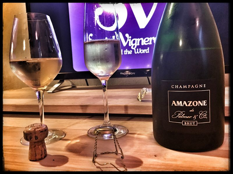 Score 94+/100 Wine review, tasting notes, rating of Amazone de Palmer & Co, Champagne. Description of aroma, palate profile, flavors. Join the experience.