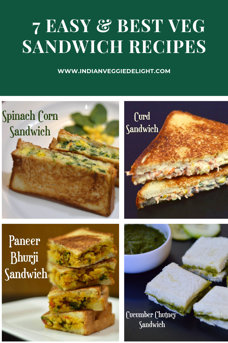 Veg Sandwich Recipes