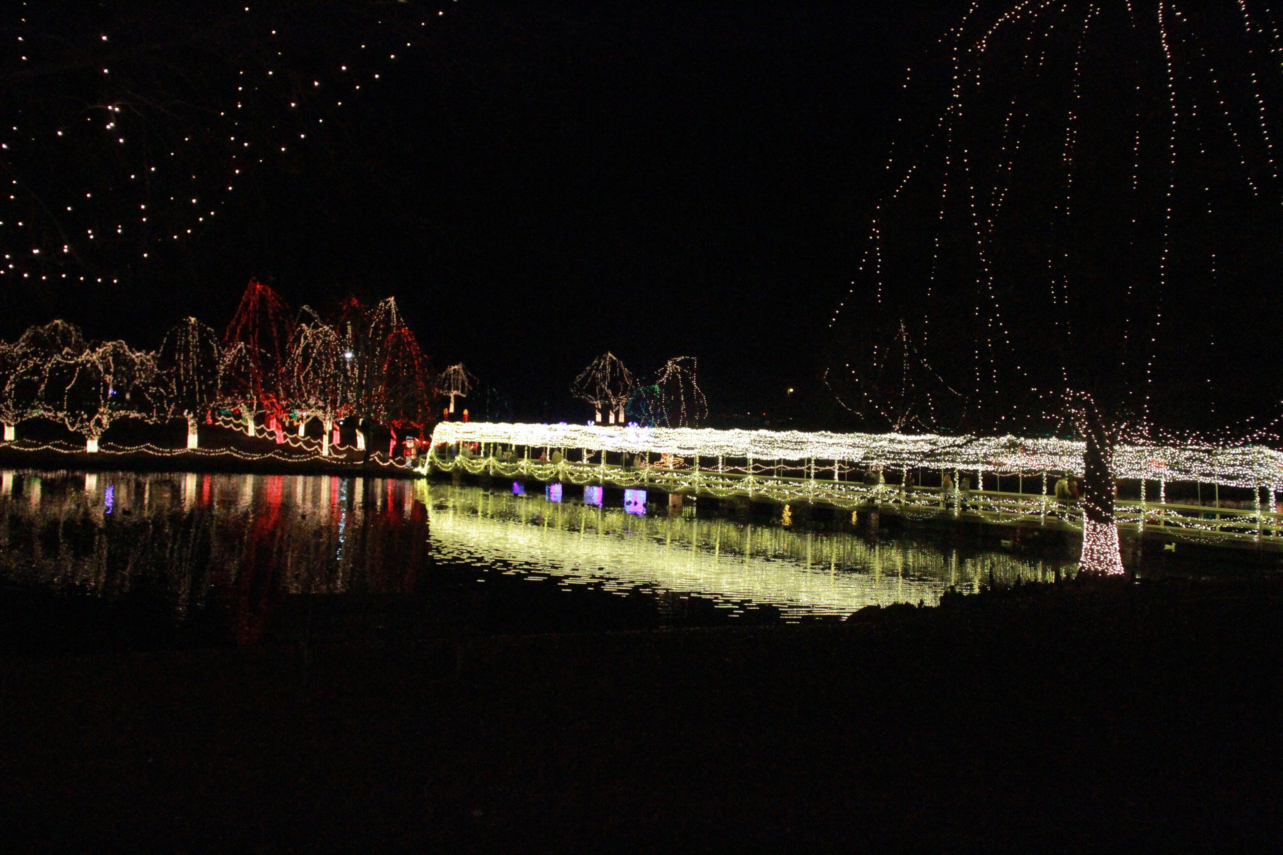 Christmas lights in Chickasaw Country! #oklahoma #oklahomachristmas ...