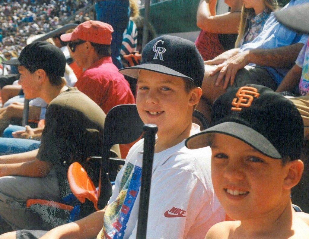 The 5th generation, my sons...still avid Giants fans