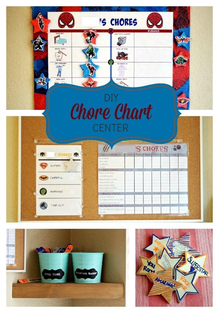 Diy C Chart Center Plus Preschooler Superhero And Zombie Free Printable Cleaninguntangled Ad Cbias