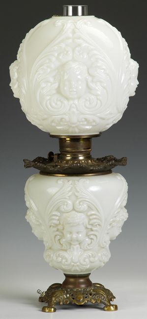 5dc8eb5520a3 Victorian Gone with the Wind parlor Lamp