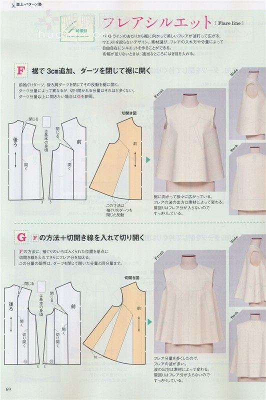 Mod@ En Line@. | Pattern making | Pinterest | Patrones, Costura y Molde