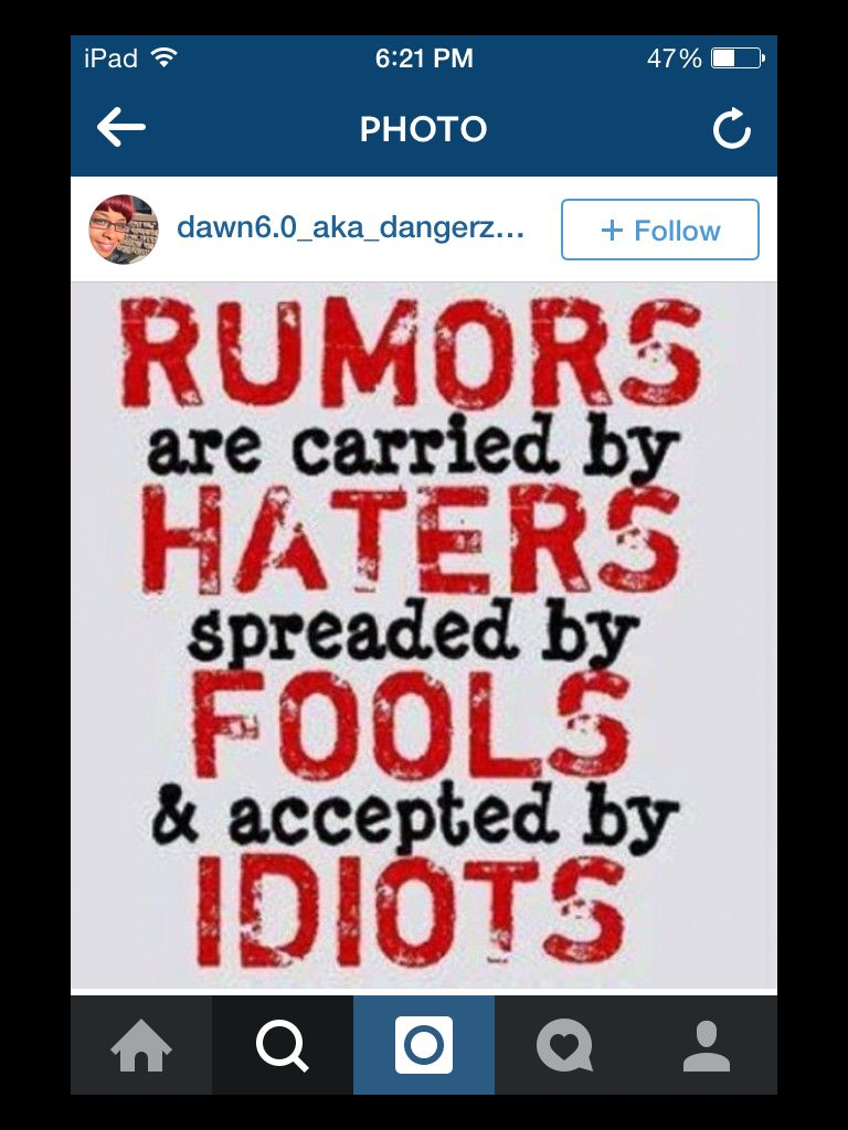 Rumors The fool, Humor, Quotes