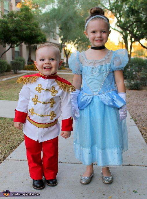 Cinderella  Prince Charming - Halloween Costume Contest at Costume - halloween costume ideas for family