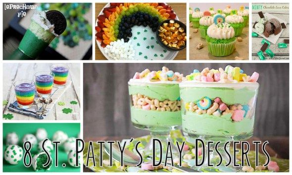 8 Desserts for Your St. Patrick's Day Celebrations