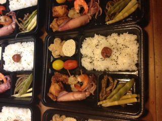 お食事処みかど 店主の日記 season2:弁当そしてミニオードブル