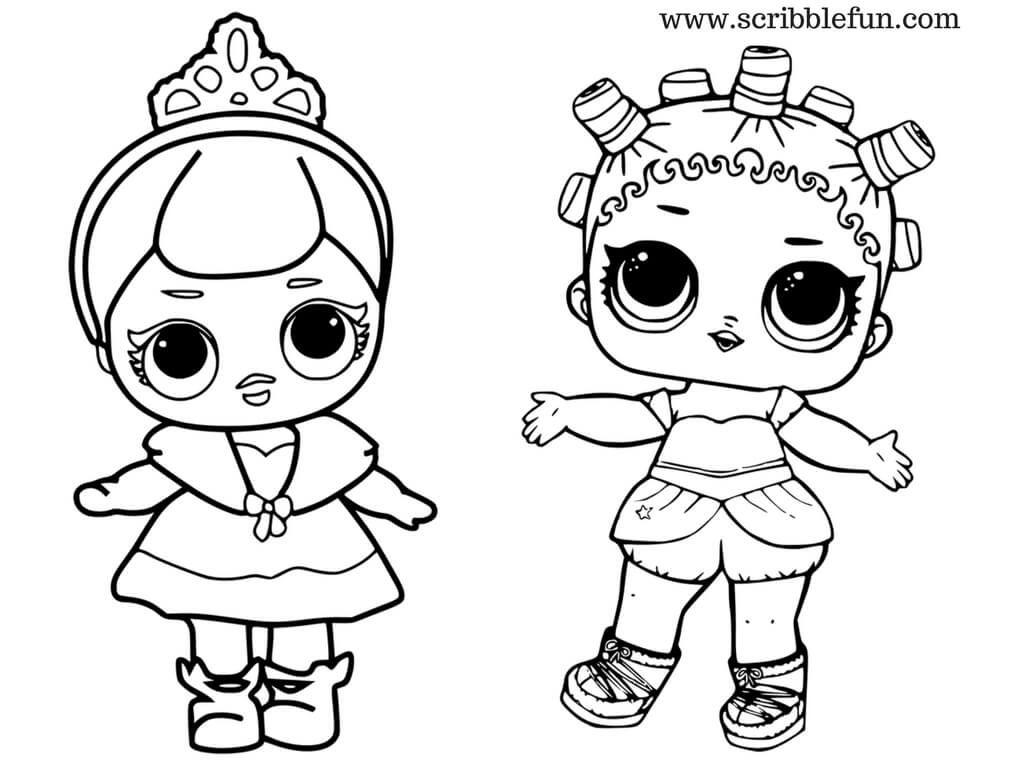 Lol Surprise Dolls Coloring Pages Lol Dolls Pinterest Dolls